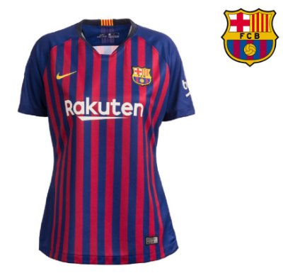 3e408c98bb Camisa Barcelona 2018-19 (Home-Uniforme 1) -