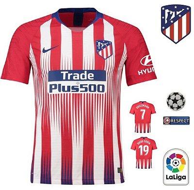 5af247cd6b Camisa Atlético de Madrid 2018-19 (Home-Uniforme 1) -