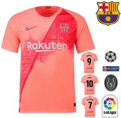 Camisa Barcelona 2018-19 (Pré-Jogo) -