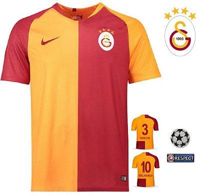 c612920928 Camisa Galatasaray 2018-19 (Home-Uniforme 1) -