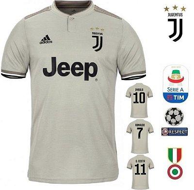 48841e38204d9 Camisa Juventus 2018-19 (Away-Uniforme 2) -