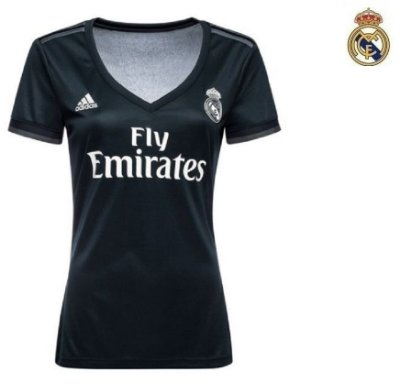b6817a3a81a82 Camisa Real Madrid 2018-19 (Away-Uniforme 2) -
