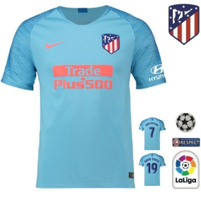 21c3327416544 Camisa Atlético de Madrid 2018-19 (Away-Uniforme 2) -