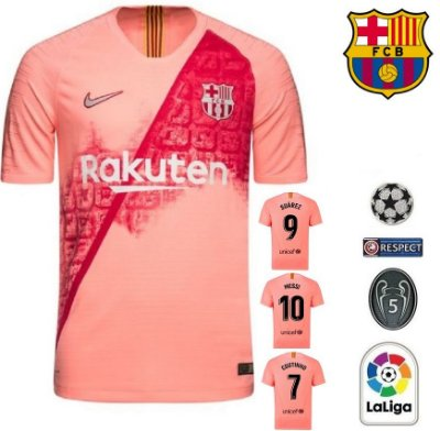 e995958e075b5 Camisa Barcelona 2018-19 (Third-Uniforme 3) -
