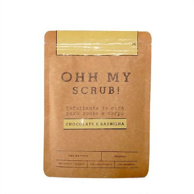 OHH MY SCRUB! Chocolate & Baunilha