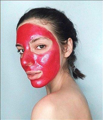 Double Dare OMG! Kit Máscara Facial Platinum Rosa: Máscara Borbulhante Detox OMG, Máscara Rosa Peel Off OMG, Pad Sérum Removedor OMG