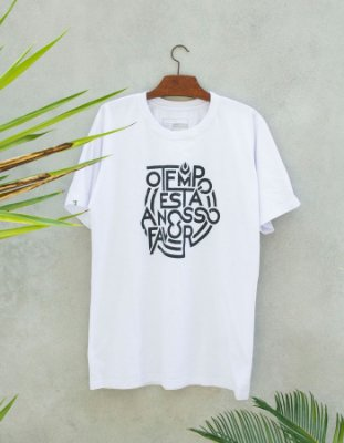 Camiseta Slim-Fit - O Tempo Necta