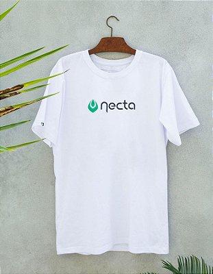 Camiseta Slim-Fit Branca - Logo Necta