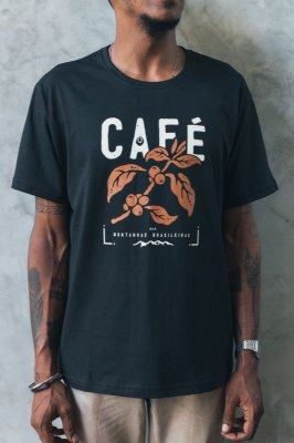 Camiseta Regular Café