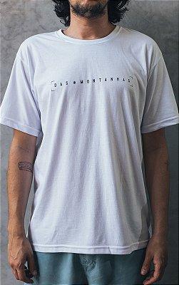 Camiseta Regular Branca Das Montanhas