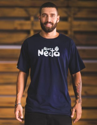 Camiseta Slim-Fit - Selo Alma Necta