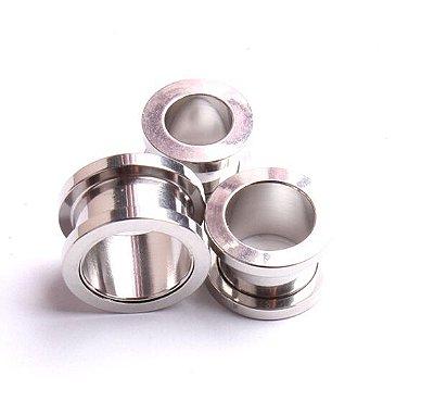Alargador 3 mm Aço Inoxidável  - 1 PEÇA - (Não é o par)