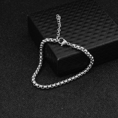 Pulseira Masculina Aço Inoxidável  Chain