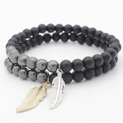 Pulseira Masculina Black Bird
