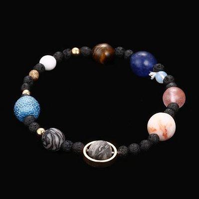 Pulseira Masculina Sistema Solar