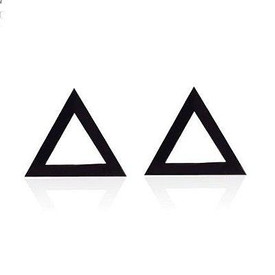 Brinco Masculino Triângulo Equilátero - PAR