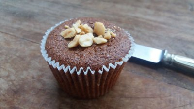 Muffin Doce Peanut And Jelly -115g - Pacote com 6 und.