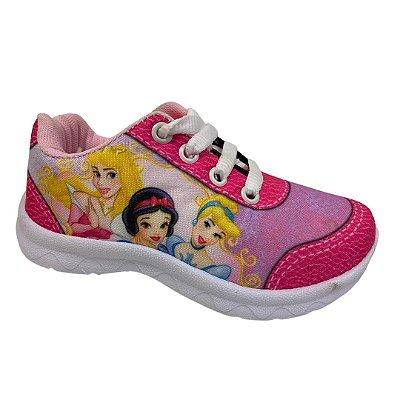 Tenis Infantil Kids Botinho Rosa Juvenil Princesas B275E