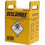 Caixa Coletora Material Perfurocortante  Descarbox
