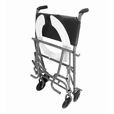 Cadeira de Banho - Dobravel - Cinza (CDS)