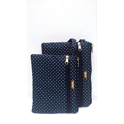 bolsa de mão em tecido