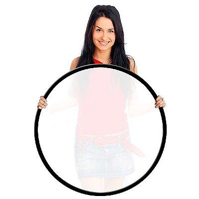 Difusor Flexível - Circular Branco Translúcido Ø107cm