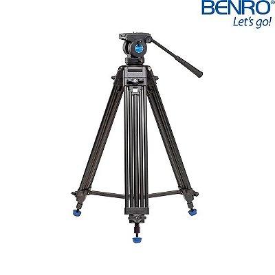 Kit Tripé de Vídeo Benro Modelo KH-25N
