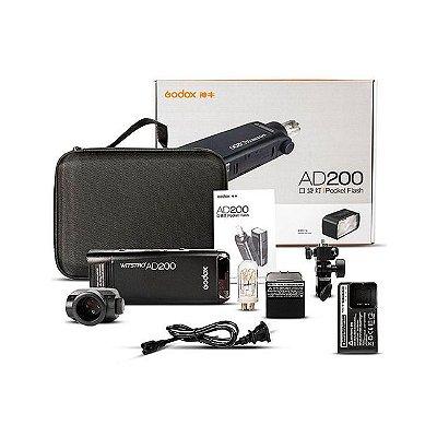 Flash Witstro AD200 Pocket - Oficial Brasil - Atualizado