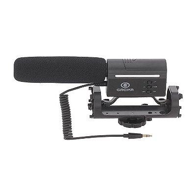 Microfone Direcional Greika GK-SM10