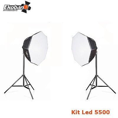 Kit Octobox LED 100 BiVolt