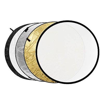 Rebatedor Circular 5 em 1 Dobrável - Tamanho Ø 60cm