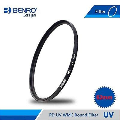 Filtro Benro UV WMC 62mm
