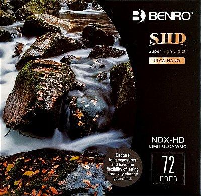 Filtro Benro ND Variável de 01 a 9 f/stop Circular 72mm