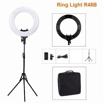 Kit Ring Light R48B com Tripé