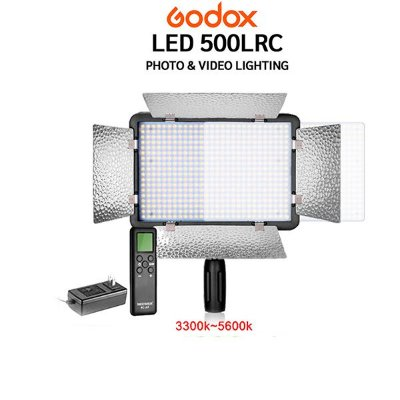 Iluminador Vídeo GODOX Led 500LRC
