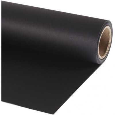 Fundo de Papel Preto 1,35 x 11m Ultra Black