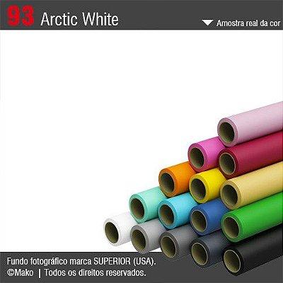 Fundo de Papel Branco 093 Arctic White 2,72 x 11m Original