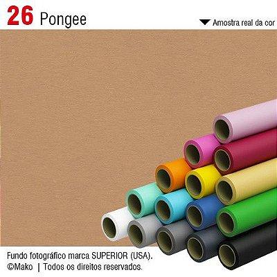 Fundo de Papel Pongee Superior Seamless 2,72 x 11m
