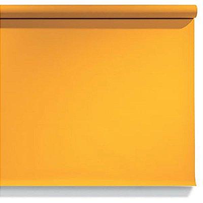 Fundo de Papel Yellow Orange 2,72 x 11m