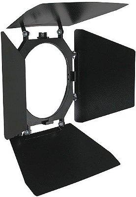 Bandeira em metal com suporte para filtros