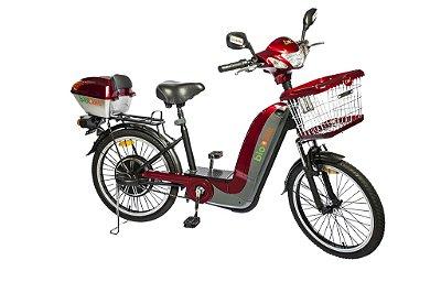 Bicicleta Elétrica Biobike, Quadro em aço, Modelo JS 150 350w