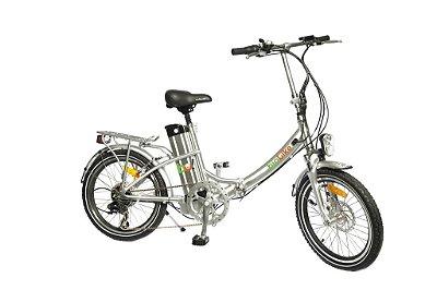 Bicicleta Elétrica Biobike, Quadro em Alumínio, Modelo JS 20