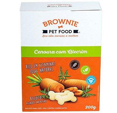 Biscoito cenoura com alecrim