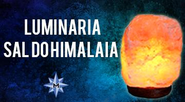 LUMINÁRIA SAL DO HIMALAIA