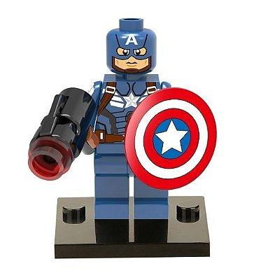 Mini Figura Marvel - Capitão América #42