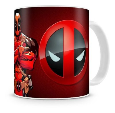 Caneca Porcelana DeadPool