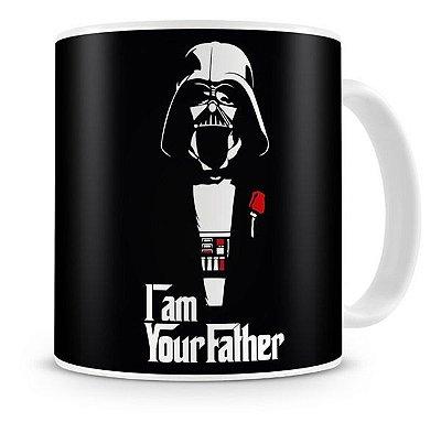 Caneca Porcelana Darth Vader God Father