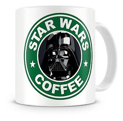 Caneca Porcelana Darth Vader StarBucks