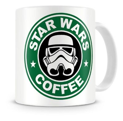 Caneca Porcelana StormTrooper StarBucks
