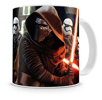 Caneca Porcelana Star Wars Despertar da Força